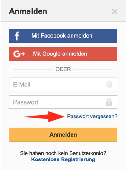 Ich habe mein Google Mail-Passwort vergessen
